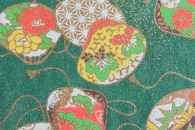 Hand-Dyed Yuzen Washi Paper - 032 Green