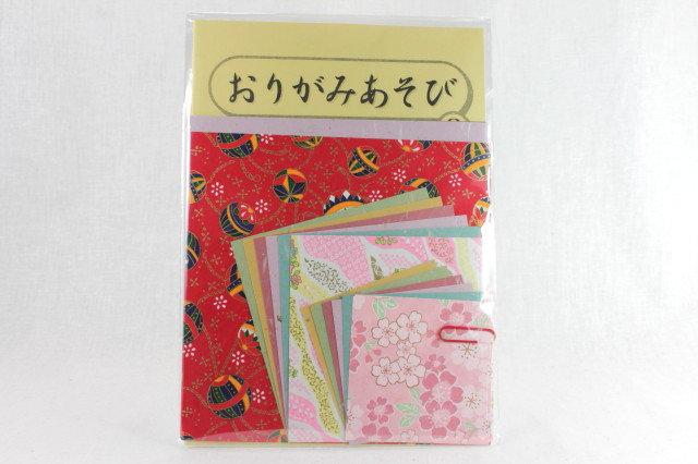 Japanese Yuzen Washi Origami Paper Pack 3