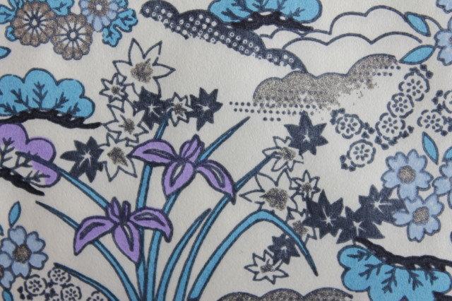 Hand-Dyed Yuzen Washi Paper - 024 White