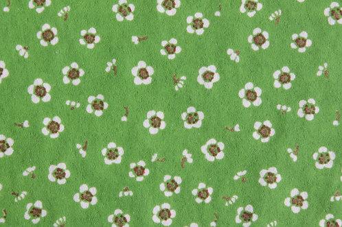 Hand-Dyed Yuzen Washi Paper - 038 Green