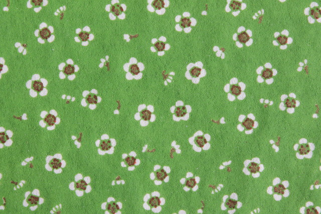 Hand-Dyed Yuzen Washi Paper - 038 Green