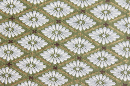 Hand-Dyed Yuzen Washi Paper - 012 Green