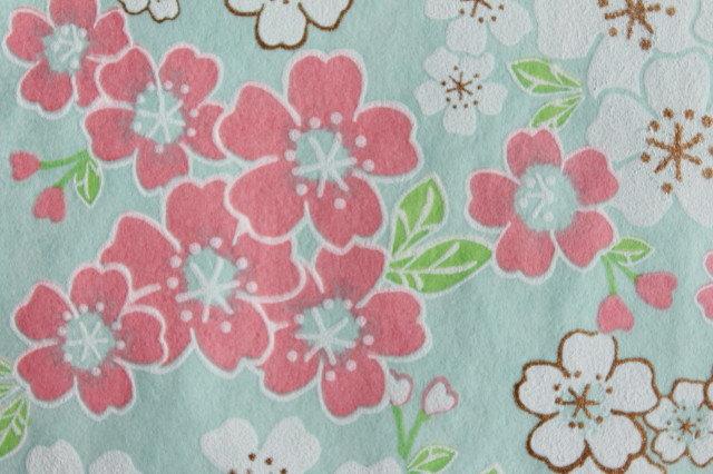 Hand-Dyed Yuzen Washi Paper - 052 Blue