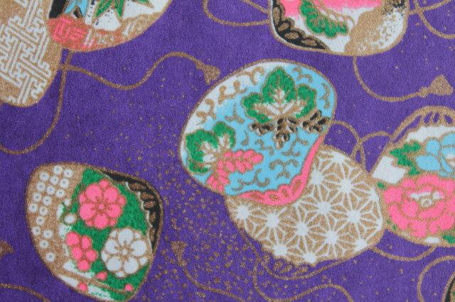 Hand-Dyed Yuzen Washi Paper - 032 Purple