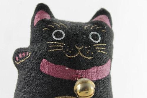 Cute Soft Cat Doll - Hand-made Stuffed Lucky Cat