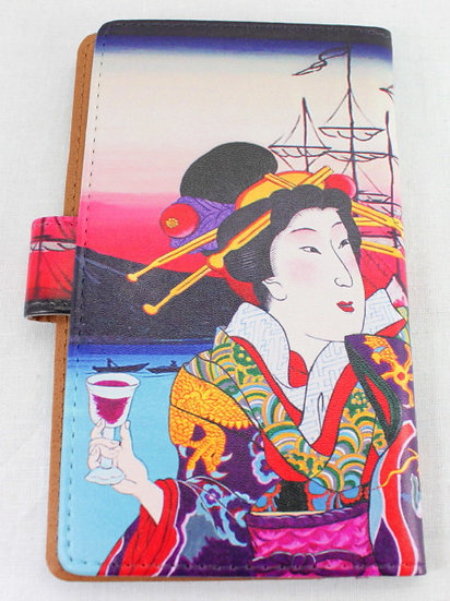 Wallet Mobile Phone Case Cover - Yokohama