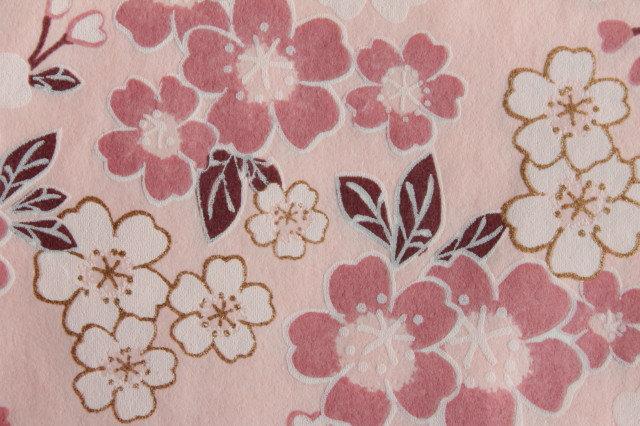 Hand-Dyed Yuzen Washi Paper - 052 Pink