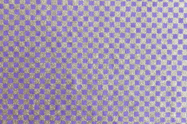 Hand-Dyed Yuzen Washi Paper - 041 Purple