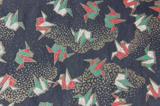 Hand-Dyed Yuzen Washi Paper - 030 Black