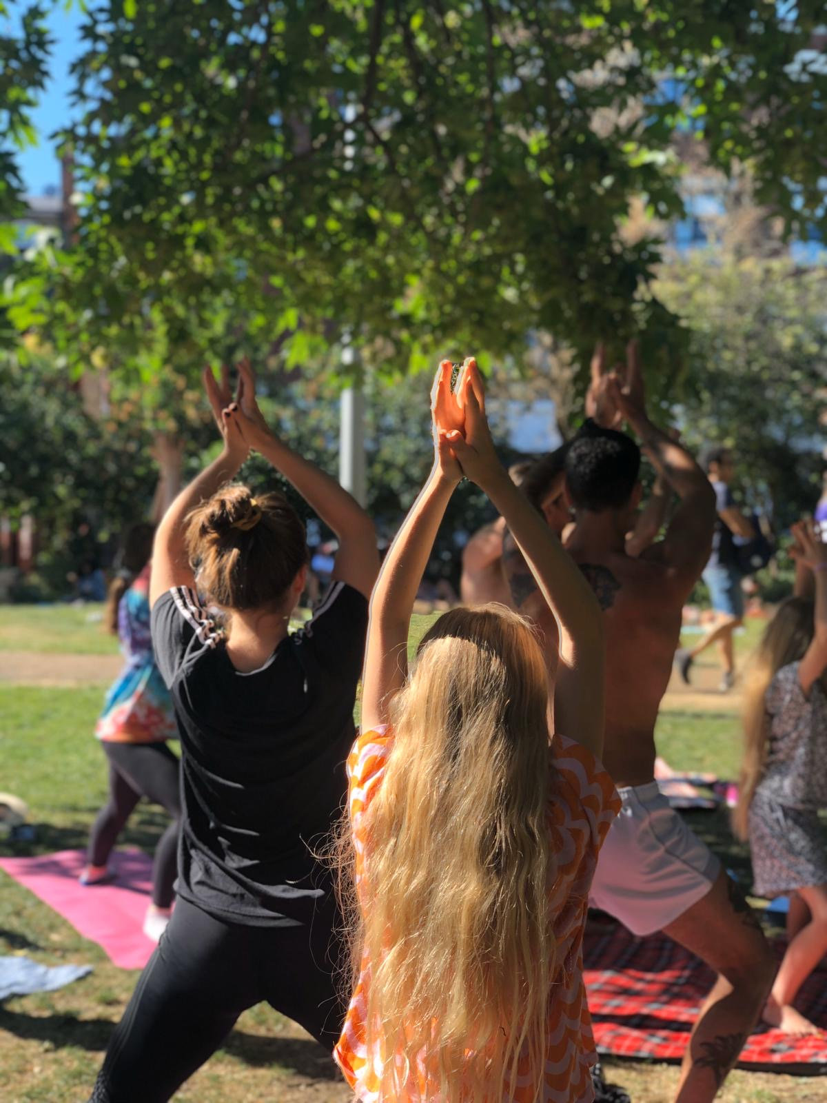 Park Yoga - Spa Fields, Exmouth Market