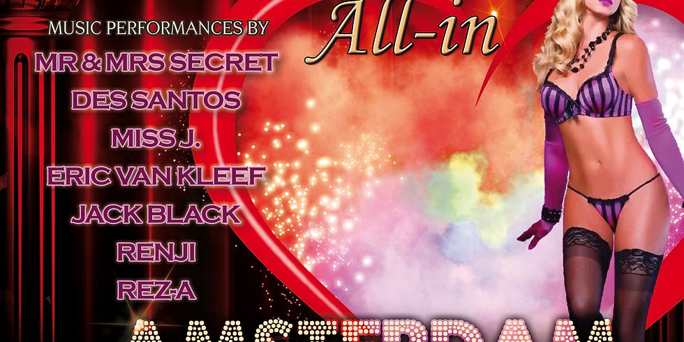 "Secret Underground ""All-In Amsterdam"" 16 November"