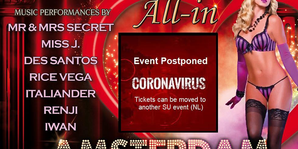"Secret Underground ""All-In Amsterdam"" Postponed to 6th of June"