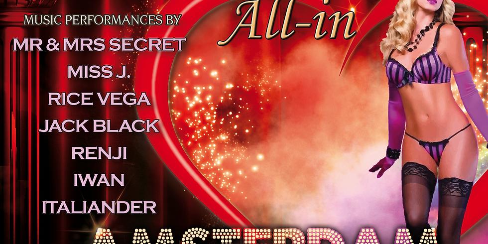 """Secret Underground """"All-In Amsterdam"""" 25 Januari"""