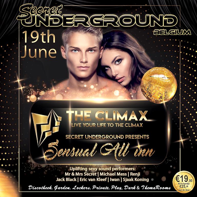 """Secret Underground """"All-In Belgium"""" 19 Juni The Climax"""