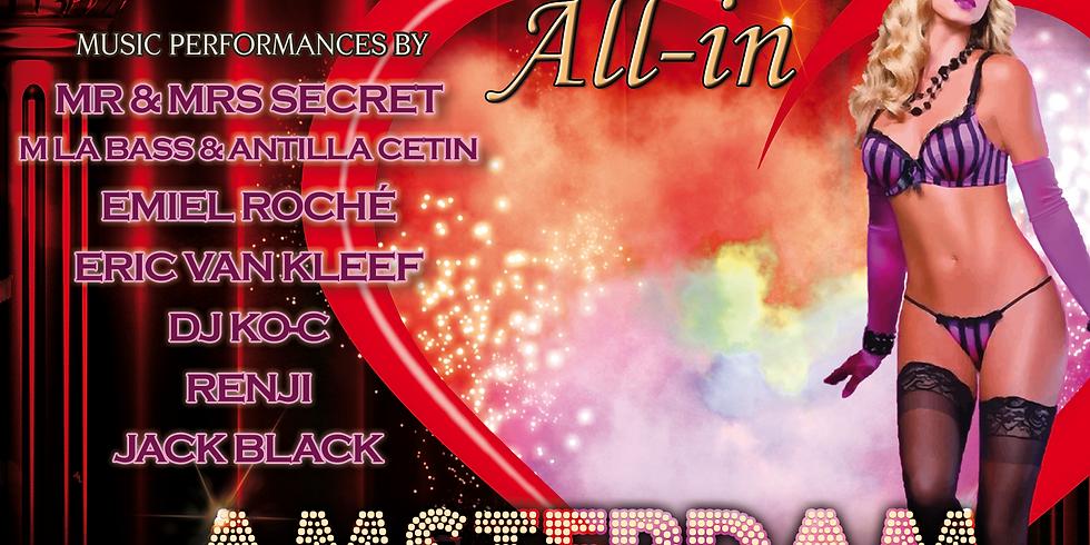 """Secret Underground """"All-In Amsterdam"""" 26 Okt."""