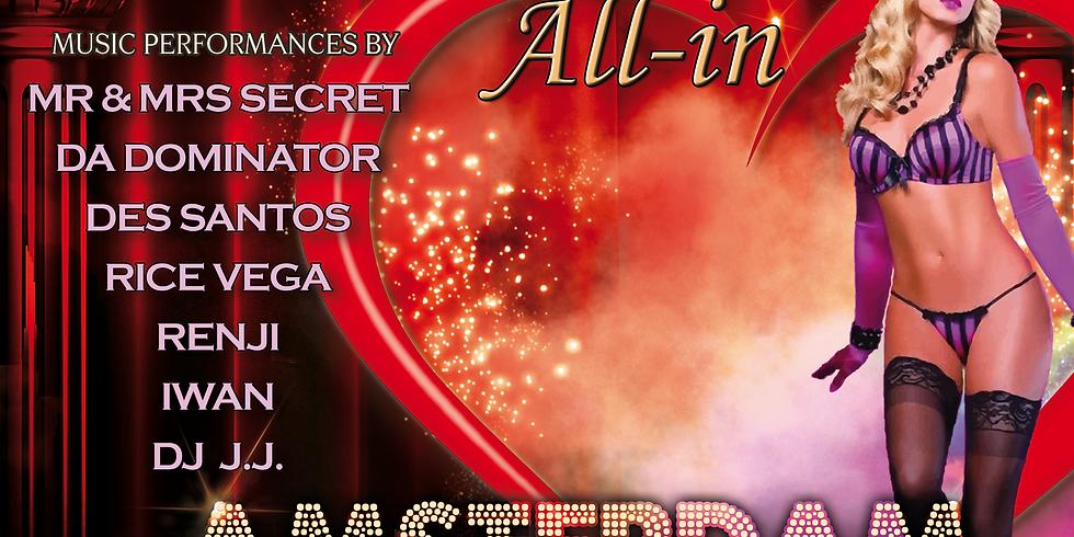 """Secret Underground """"All-In Amsterdam"""" 7 December"""