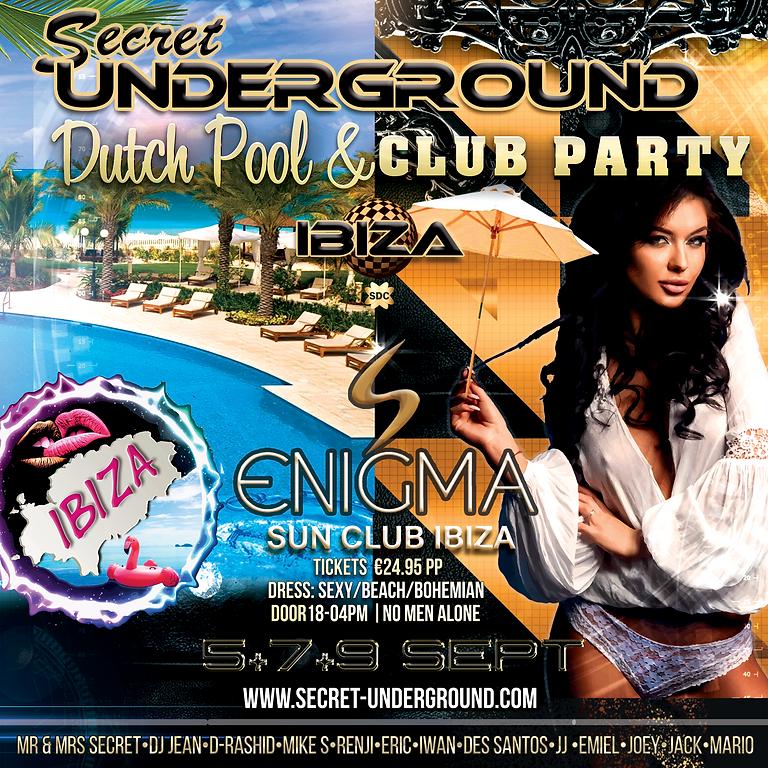 """SU """"Pool and Club Party at Ibiza"""" #1 2021"""