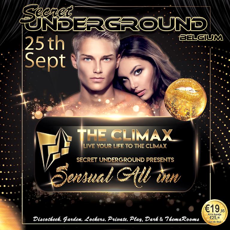 "Secret Underground ""All-In Belgium"" 25 Sept. The Climax"