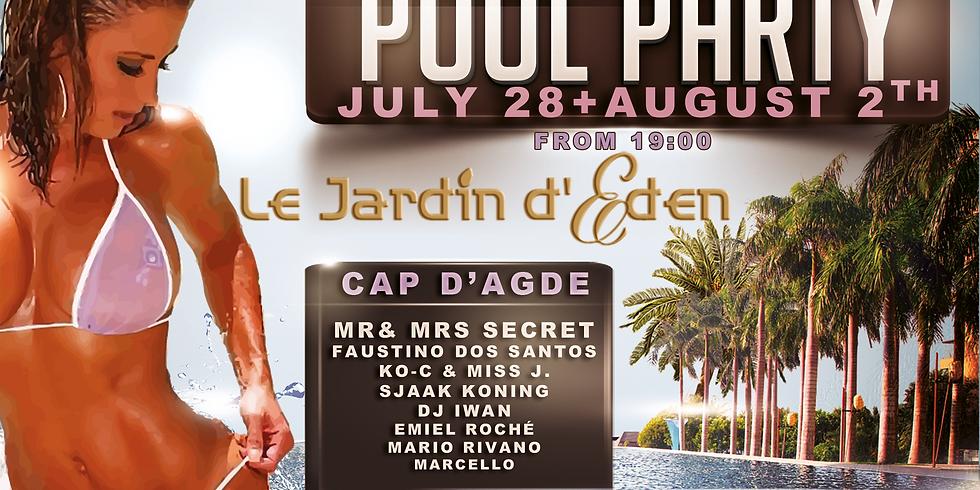 "Secret Underground ""Pool Party at France"" Cap 2020 #1"