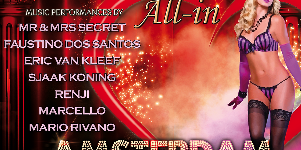 "Secret Underground ""All-In Amsterdam"" 29 Februari"