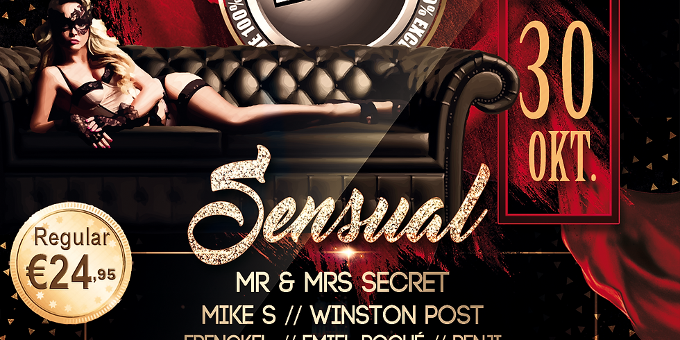 """SU """"Sensual Exclusive"""" 30 Oktober 2021 (17:00 -24:00)"""