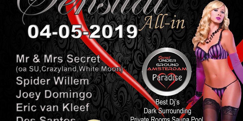 """SU """"Sensual All-In"""" Amsterdam 04 Mei"""