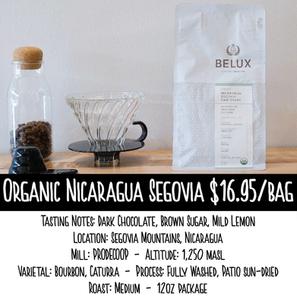Organic Nicaragua Segovia