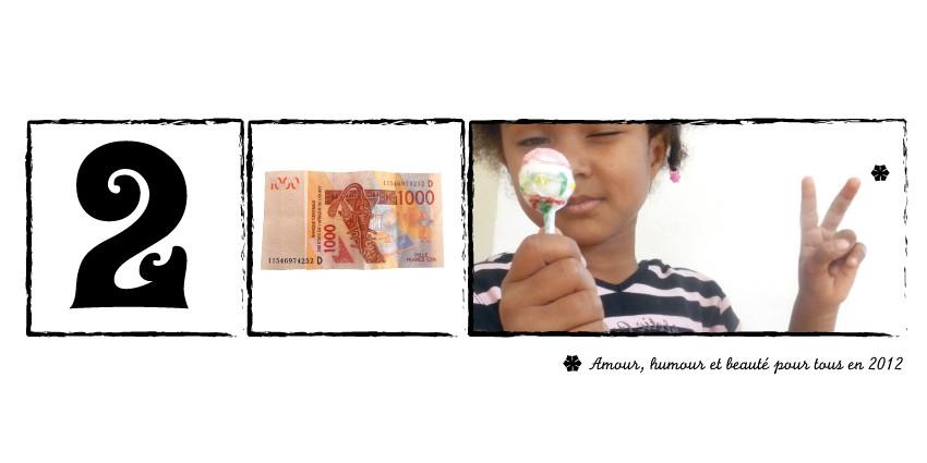 Carte de vœux personnelle 2012