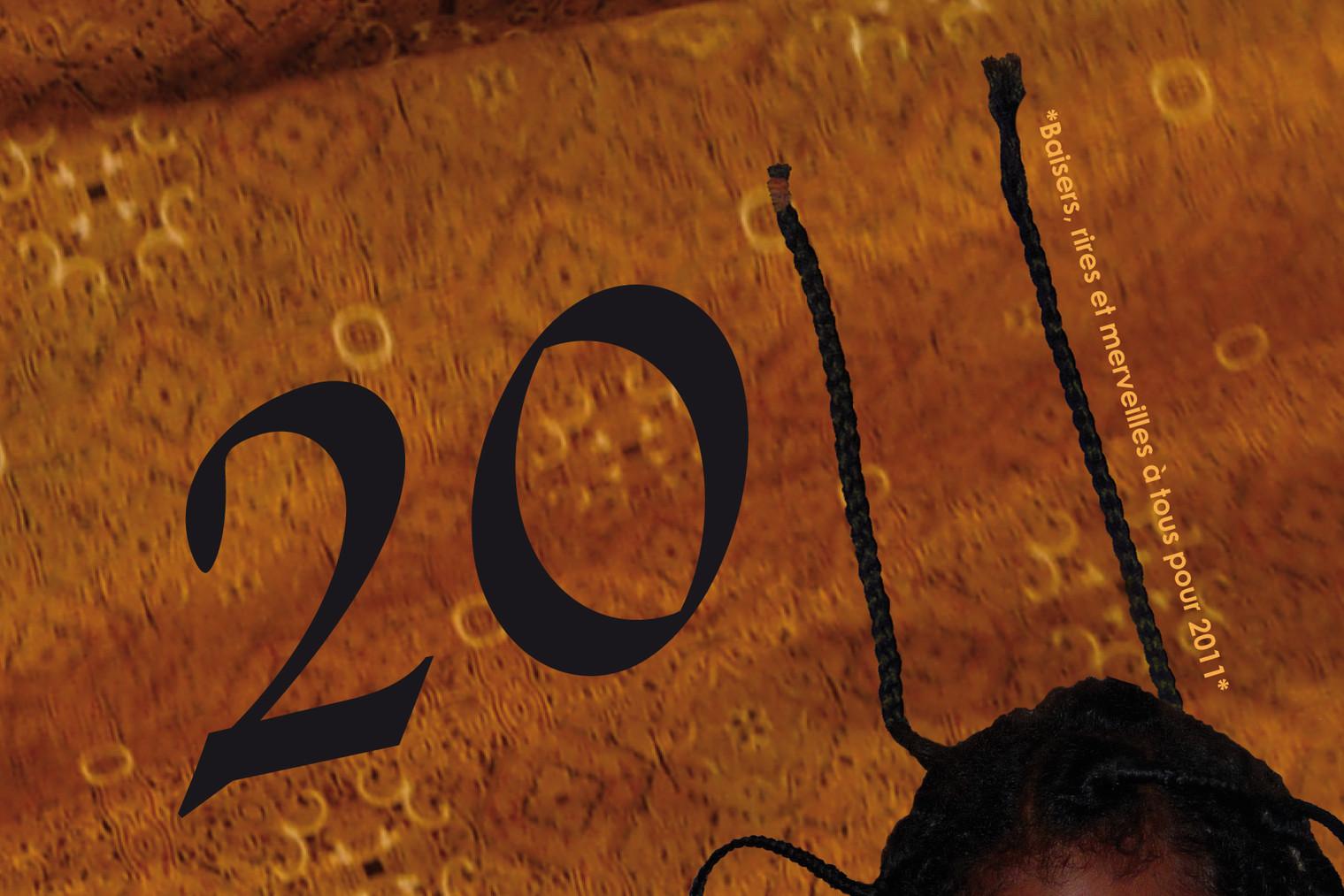 Carte de vœux personnelle 2011