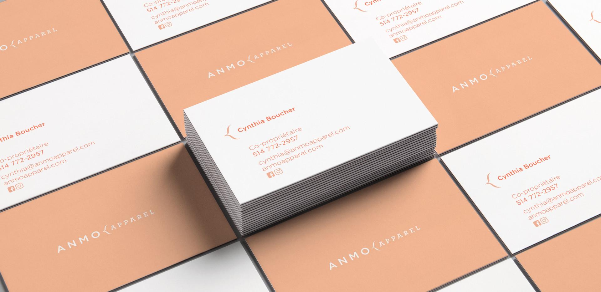 Amno | Cartes d'affaires