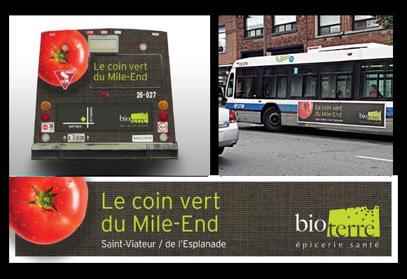 Bio Terre | Campagne Le coin vert du Mile-End