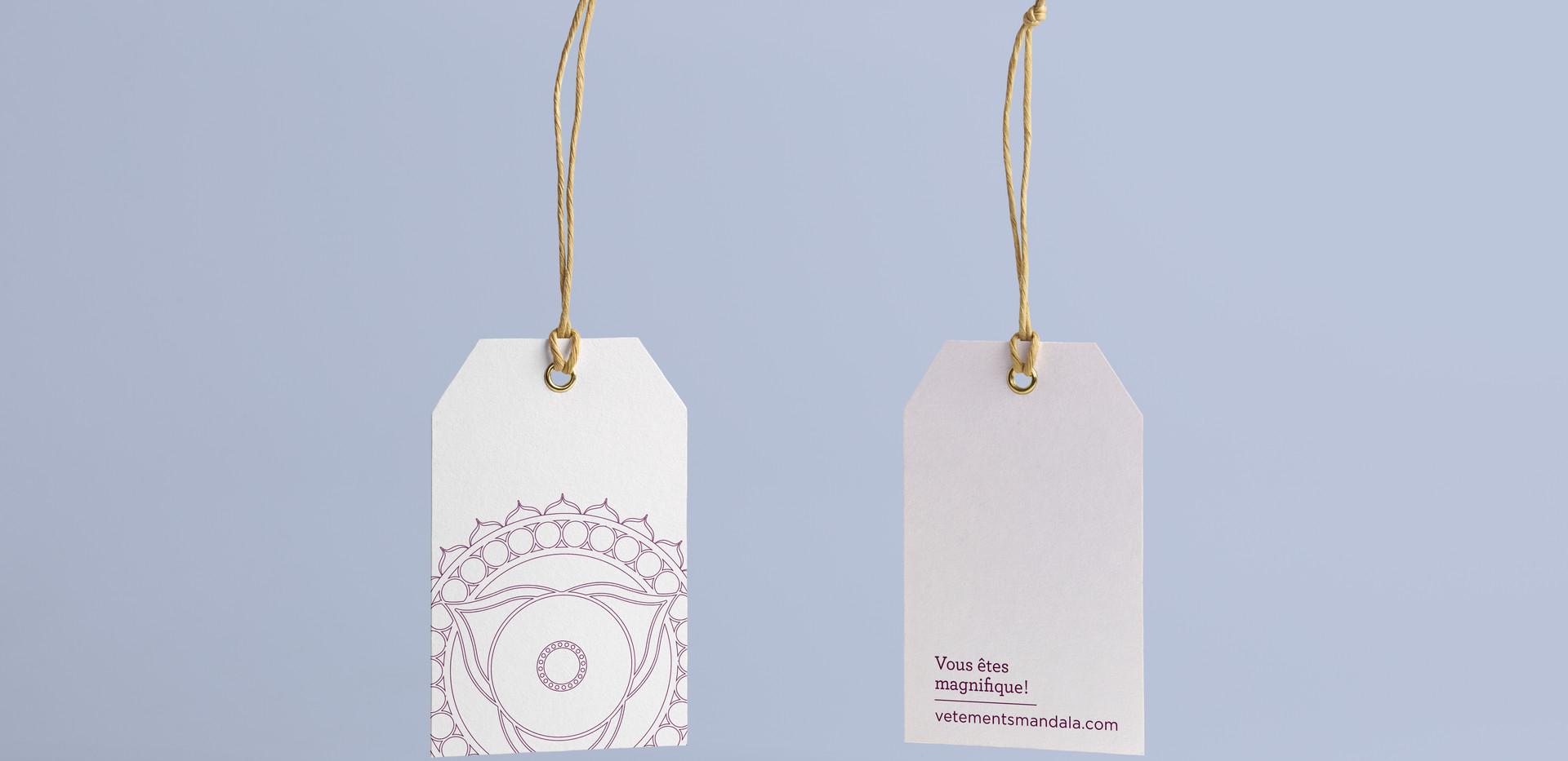 Vêtements Mandala | Étiquettes