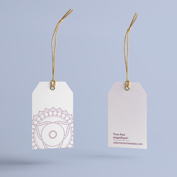 Vêtements Mandala | Promo et image de marque