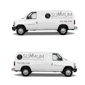 Summum réfrigération | Identité visuelle
