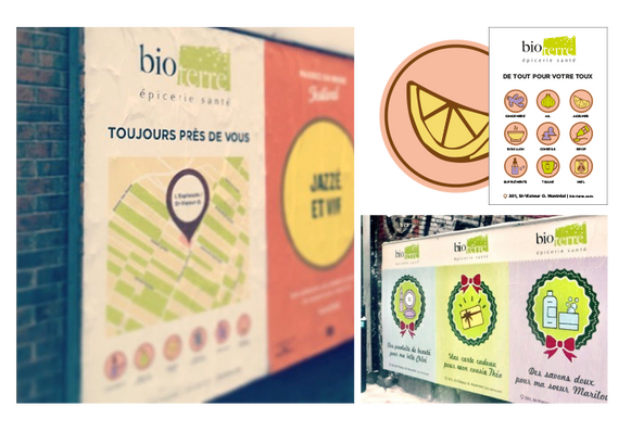 Bio Terre | Campagne Icônes