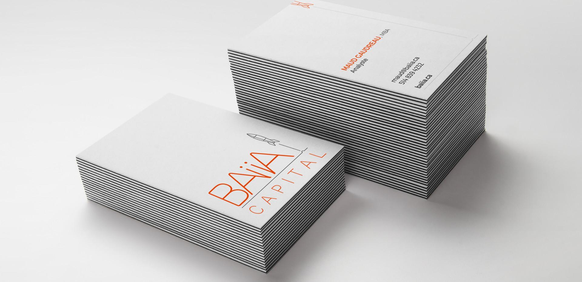 BAiiA | Cartes d'affaires