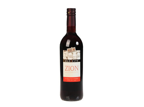 Zion Kiddush Wine