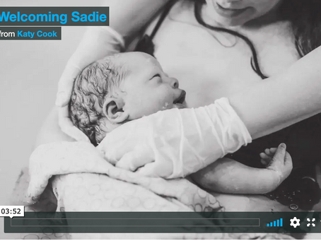 Sadie's Birth Video