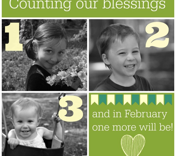 Count Our Blessings: Baby 4
