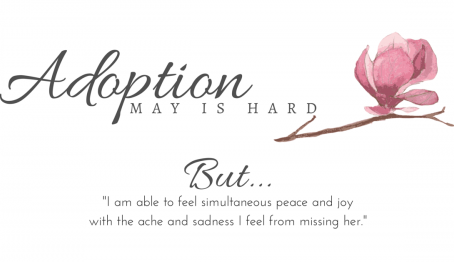 Adoption: May is Hard