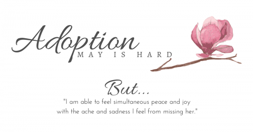 Adoption: May is Hard