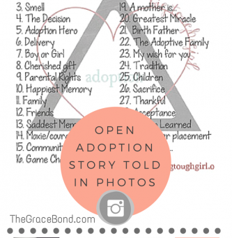 Our Open Adoption Story Told in Photos