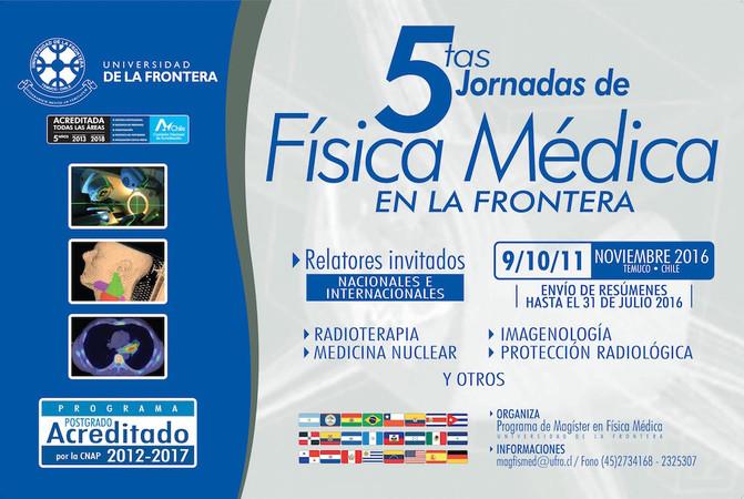 5tas Jornadas de Física Médica en La Frontera