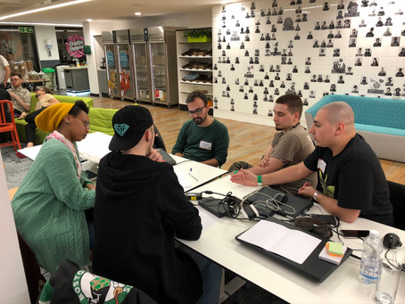 GLOBAL GAME JAM 2020 at KING UK