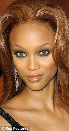 Tyra B eyebrows