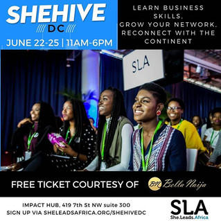 SheHive Coming to DC!