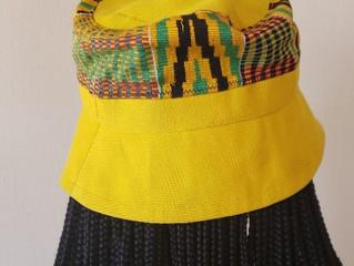 Doyin Aso Oke Satin Lined Bucket Hats!