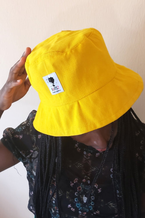 (Ade)Doyin - Yellow Bucket Hat