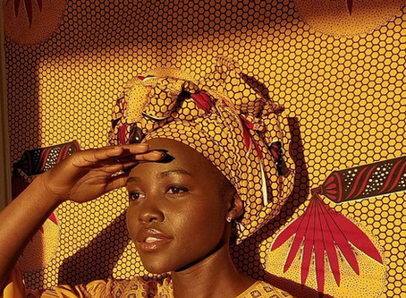 Lupita Nyong'o & Her Head Wrap Game Strong!