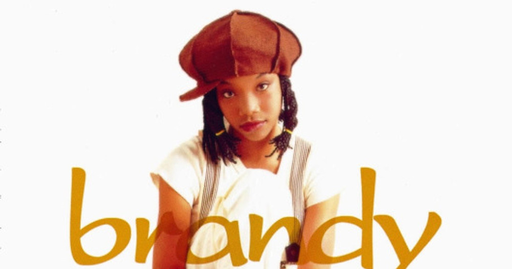 Brandy album cover - hat